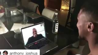 ANTHONY JOSHUA GETS A SHOCK VIDEO CALL FROM DR.DRE HIMSELF! / JOSHUA v KLITSCHKO