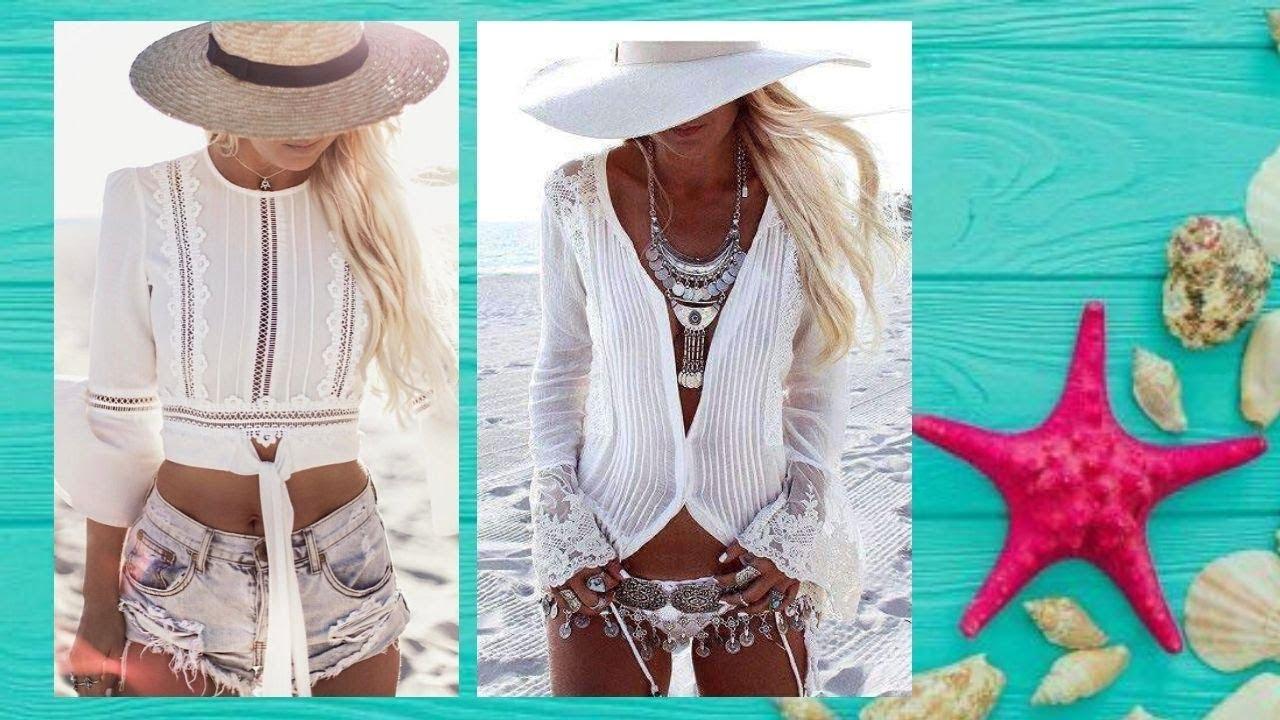 Moda Verano 2020 Como Ir A La Playa Con Estilo Trajes De Bano Mujer 2020 Youtube