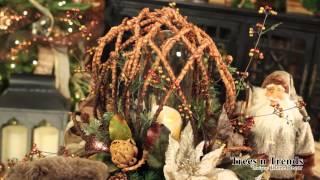 """""""Christmas Lodge"""" Christmas Cocktail Table - 2014 Thumbnail"""