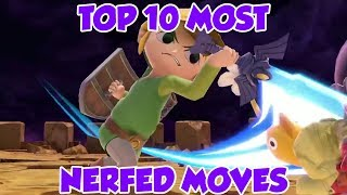 These 10 Moves Got HUGE *NERFS* in Smash Ultimate...