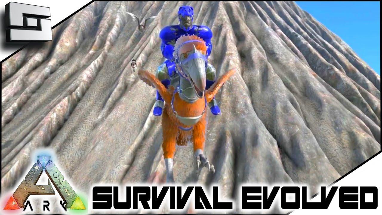 ARK: Survival Evolved   TERROR BIRD TAMING And GRAPPLING HOOK! S3E36 (  Gameplay )   Clipzui.com