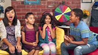 School Challenge Troublemaker Edition ft. GEM Sisters : Issac Ryan Brown Disney Channel Raven