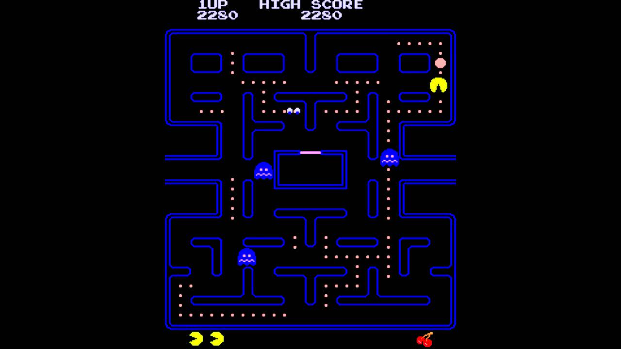 Mame32 - PacMan Midway Arcade Style 1980 [PC] - YouTube