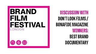 Brand Film Festival: Interview with Alex Nagshineh, Brand Documentary Winner 2018