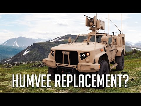 Meet the Humvee Replacement / HMMWV Replacement - Oshkosh Jo