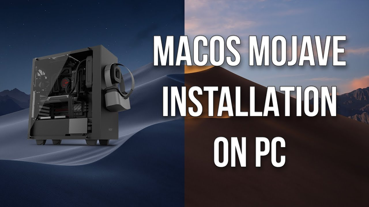 How to install macOS Mojave on PC (Core i7 8700K and Asus Prime Z370P)
