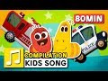 Download WHEELS ON THE CAR and other songs | 75 min | LARVA KIDS | Nursery Rhyme for kids MP3 song and Music Video