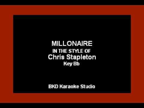 Chris Stapleton - Millionaire (Karaoke Version)