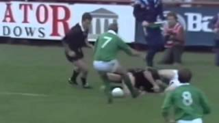 Ireland vs New Zealand Rugby 1989