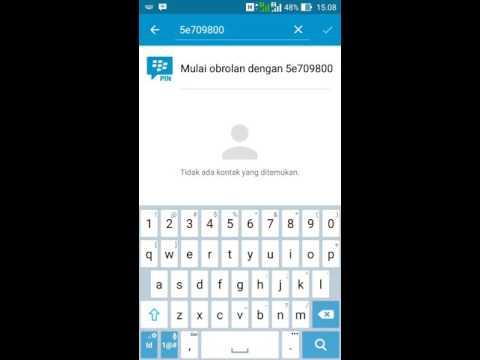 Cara Chat Di Bbm Tanpa Invite Pin