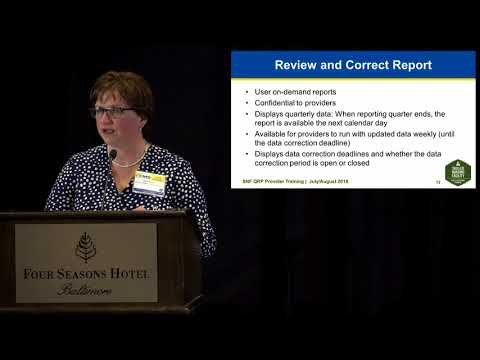 Skilled Nursing Facility (SNF) Quality Reporting Program (QRP) Reports