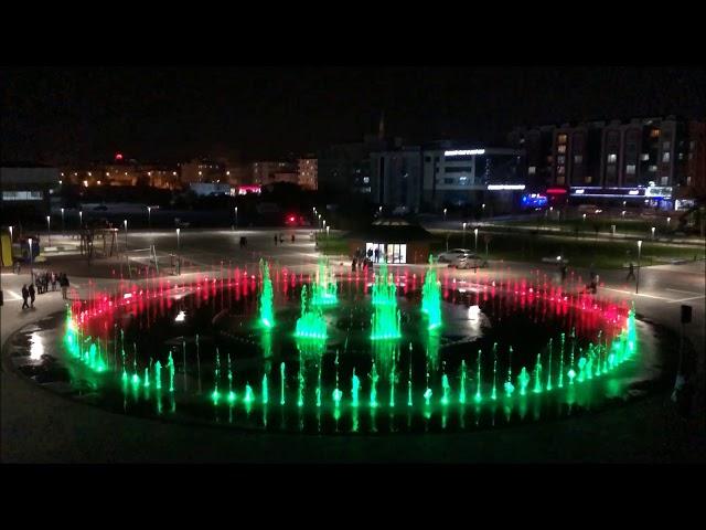 Müzikli Danslı Kuru Havuz Fıskiye Sistemi Tekirdağ Çerkezköy Kentpark  - 10. Yıl Marşı