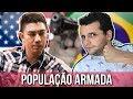 POLICIAL AMERICANO FALA SOBRE DESARMAMENTO DA POPULAÇÃO BRASILEIRA I EP98TEMP02 I PARTIU ALASCA