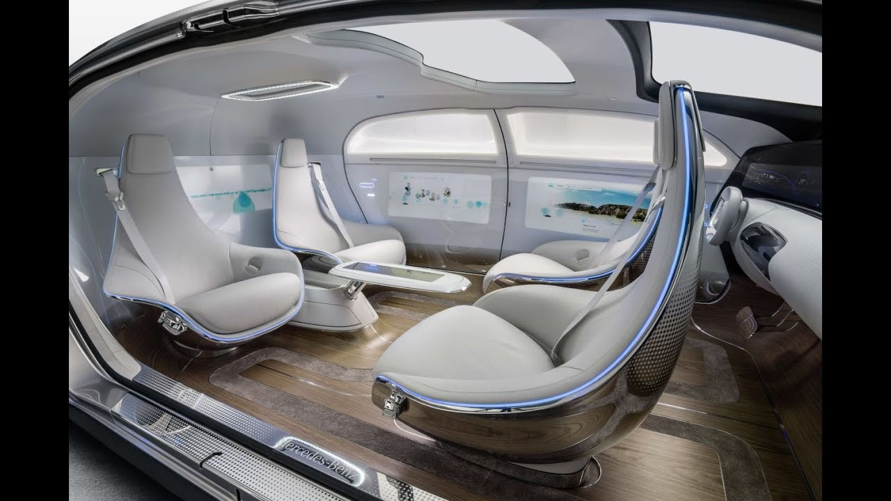 Mercedes F 015 >> Mercedes Benz F 015 Luxury In Motion Concept Interior Design
