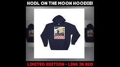 LIMITED EDITION HODL BITCOIN ON THE MOON HOODIE