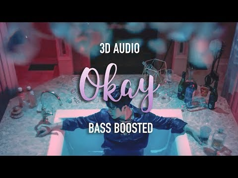 Jackson Wang - OKAY (3D + BASS BOOSTED) RE-UPLOAD