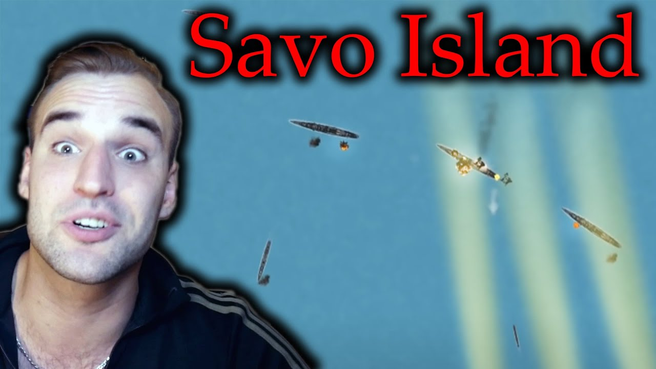 Estonian Soldier reacts to the Battle of Savo Island