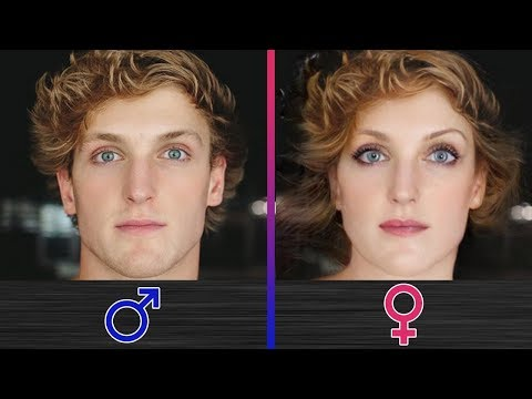 What If YouTubers Changed Their Genders?! (Roman Atwood, Jake Paul, Logan Paul, Guava Juice)