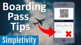 How to Save Time at the Airport (Boarding Pass & Gate Tips)