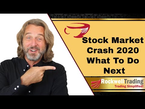Stock Market Crash 2020 – What To Do Now