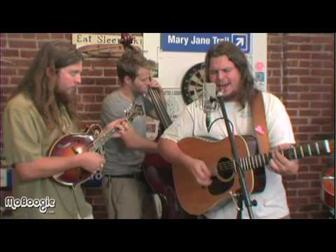 "GREENSKY BLUEGRASS ""Radio Blues"" - acoustic @ the MoBoogie Loft"