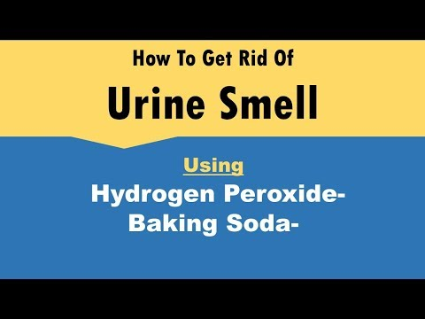 How To Get Rid Of Urine Smell Using Hydrogen Peroxide/Baking Soda Mixture