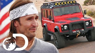 Transforming A Land Rover Into A Left Hand Drive Vehicle | Diesel Brothers