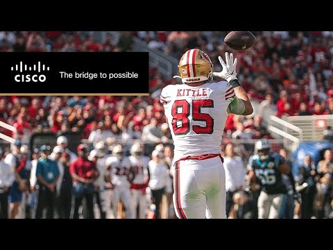 George Kittle Enjoys 'National Tight End Day'