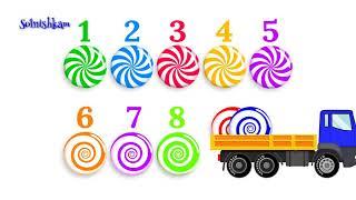 Сборник лучших развивающих видео для детей, обучающий цифрам, цветам и счету  Дл