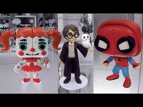 New York Toy Fair 2017 Full Funko Booth Tour Funko Pop Vinyl Figures Collection Video
