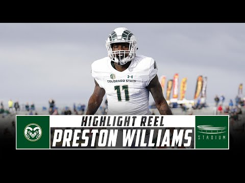 size 40 65359 6792c Preston Williams Colorado State Football Highlights - 2018 ...