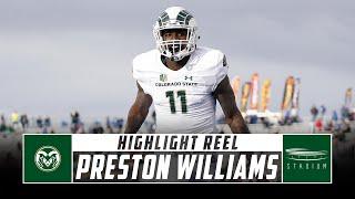 Preston Williams Colorado State Football Highlights - 2018 Season | Stadium