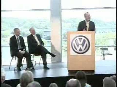 Volkswagen Picks Chattanooga Tennessee Press Conference 5