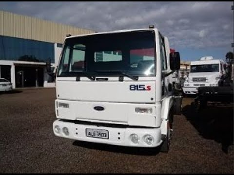 Ford Cargo 815 - 4x2 - Ano 2004