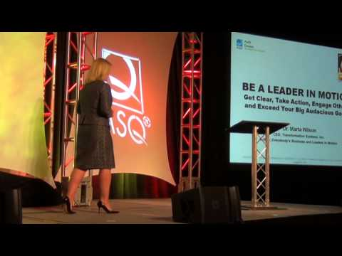 Dr. Marta Wilson ASQ Conference Speech