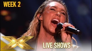 Megan McKenna: She PROVES Why She Should Win IT! AMAZING!| The X Factor 2019: Celebrity