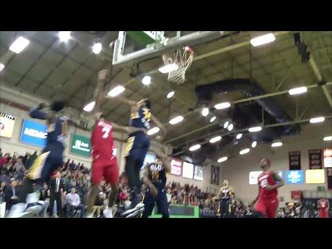 Asauhn Dixon-Tatum with 4 Blocks vs. Maine Red Claws