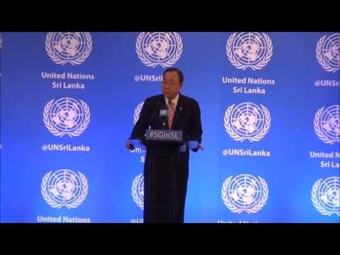 Press Conference - UN Secretary General Mr. Ban Ki-moon - 2 September 2016
