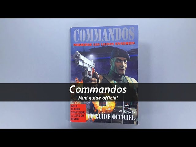 Commandos - Mini guide officiel