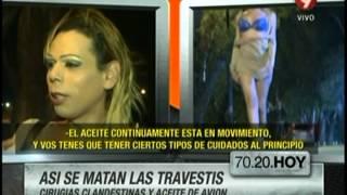 Así se matan las travestis: Cirugías clandestinas y aceite de avión