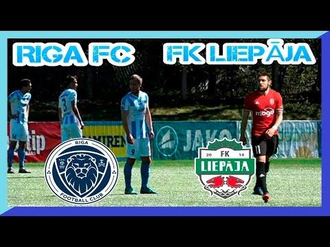 RIGA FC - FK Liepāja Mogo 13.05.2017 RIGA Football Club zaudē SynotTip Virslīgas 8 kārtas spēlē
