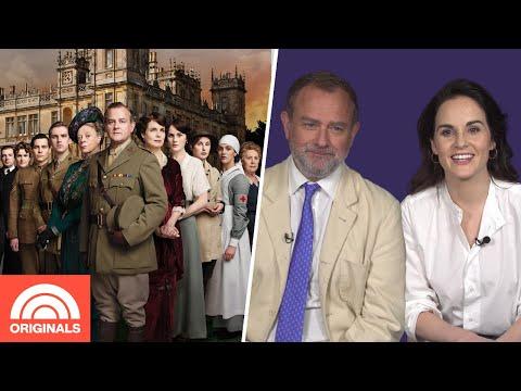 'Downton Abbey' Stars Michelle Dockery, Hugh Bonneville Re-Create Best Lines | TODAY Original