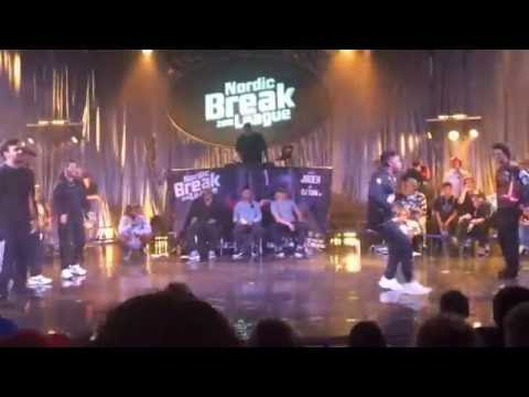 Hustle Kidz vs Crazy Styles |Quarter final| Nordic Break League 2016