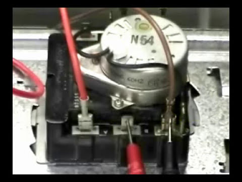 Timer replacing GE dryer - YouTube