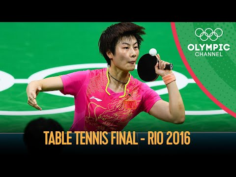 Women's Singles Table Tennis - Full Gold Medal Match   Rio 2016 Replays