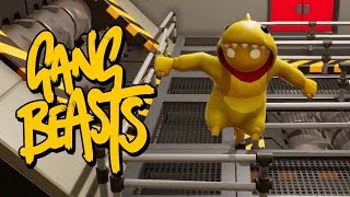 I'M A PINEAPPLE!! Gang Beasts RETURNS!!