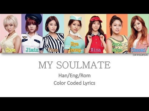 AOA - MY SOULMATE (내 반쪽) [Color Coded Han|Rom|Eng]