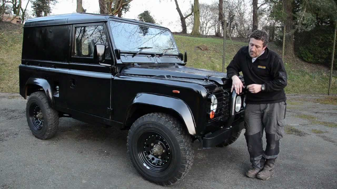Land Rover Defender Rebuild Stealth Black Youtube