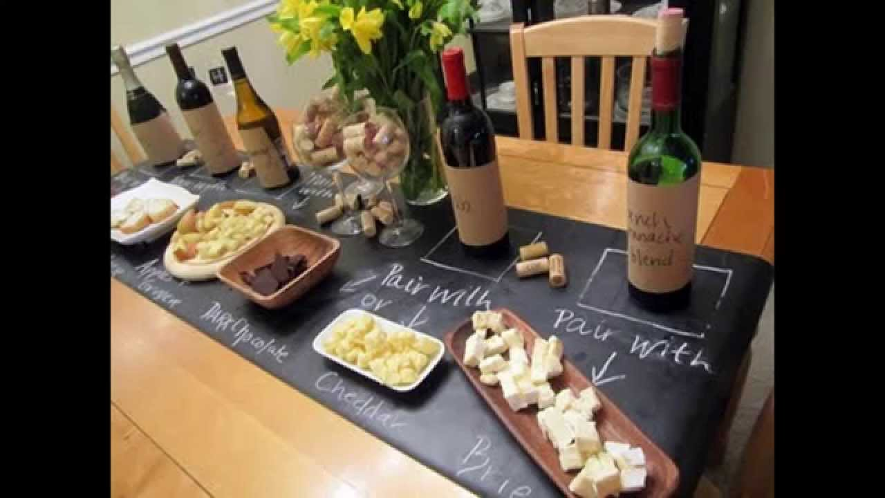Wine And Cheese Party Decorations Youtube