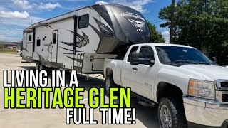 True RV freedom! Check out this Heritage Glen 356QB